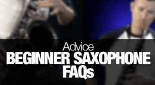 Frequently asked questions for beginner sax players