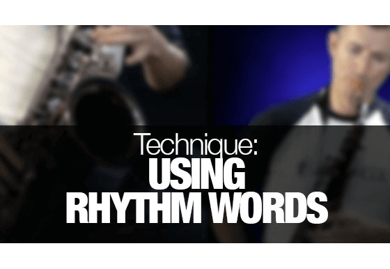 Tips for reading rhythms on saxophone