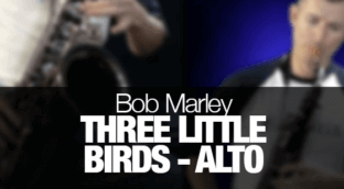 Learn Three Little Birds on alto sax.