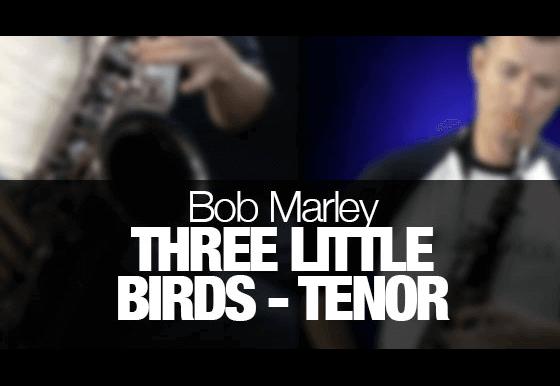 Learn Three Little Birds by Bob Marley on alto sax