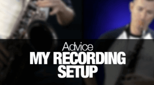 How to setup a home recording studio for saxophone