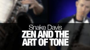 Saxophone tone tips from Snake Davis