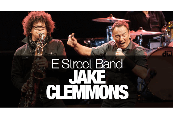 Jake Clemmons E Street Band
