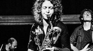 Baritone Saxophone by Tini Thomsen