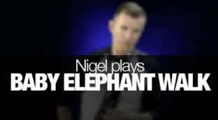 Learn Baby Elephant Walk on Saxophone