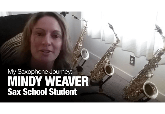 Sax School review by Mindy Weaver