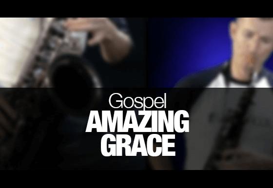Amazing Grace played on tenor sax