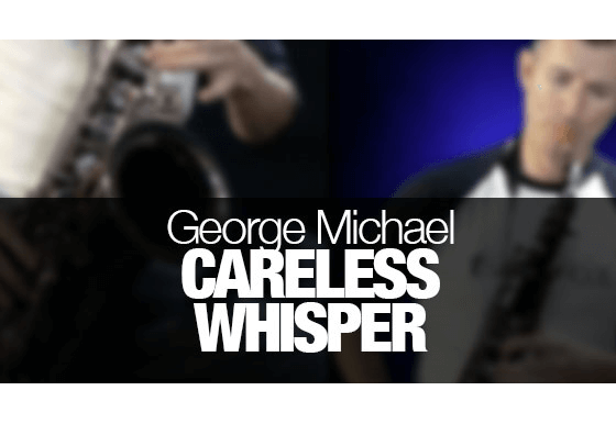 Learn how to play Careless Whisper on saxophone