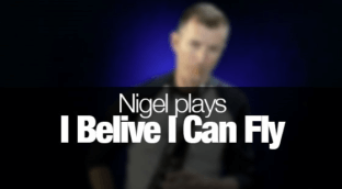 I Believe I Can Fly - Tenor Sax