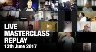 Replay of Sax School June Masterclass