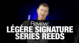 Review of Legere synthetic saxophone reeds