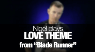 Love Theme from Blade Runner on Saxophone