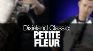 Dixieland classic Petite Fleur played on tenor sax