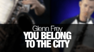 How to play You Belong to the City as recorded by Glen Frey