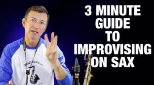 How to improvise on sax in 3 minutes