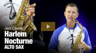 Learn Harlem Nocturne on alto sax