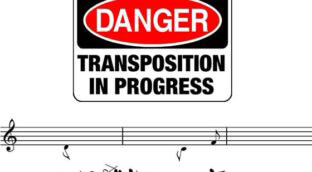 Learn how to transpose as a saxophone player