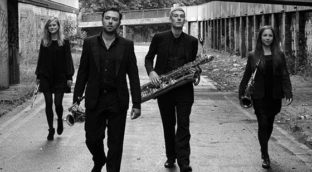 Review of the new album by Syszgy Saxophone Quartet