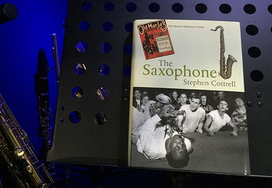 The Saxophone book by Stephen Cottrell