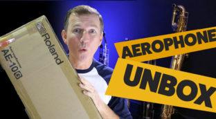 Nigel McGill Unboxing Roland Aerophone