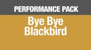 Bye Bye Blackbird saxophone lesson series