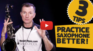3 tips to practice saxophone better