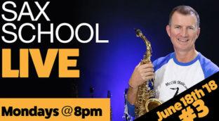 Sax School Live