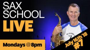 Sax School live #7