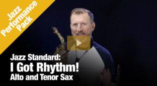 I Got Rhythm Jazz Performance Pack