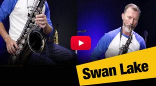 Swan Lake in alto and tenor saxophone by Nigel McGill
