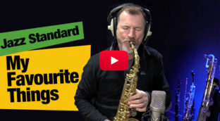 Nigel McGill playing My Favourite Things in sax