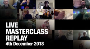 Sax School December 2018 Live Masterclass Session Replay