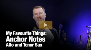 My Favourite things Anchor notes jam