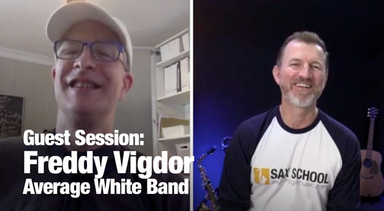 Sax School Guest session with Fred Vigdor