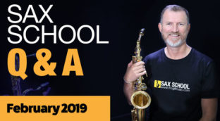 Sax School question and answer