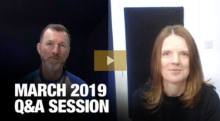 Sax School March 2019 Q and A Session