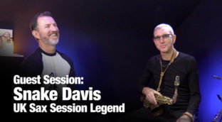 Snake Davis on Sax School Guest Session