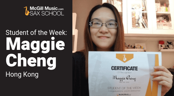 Maggie Student of the Week