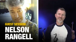 Sax School Guest session with Nelson Rangell