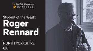 Student of the week: Roger Rennard