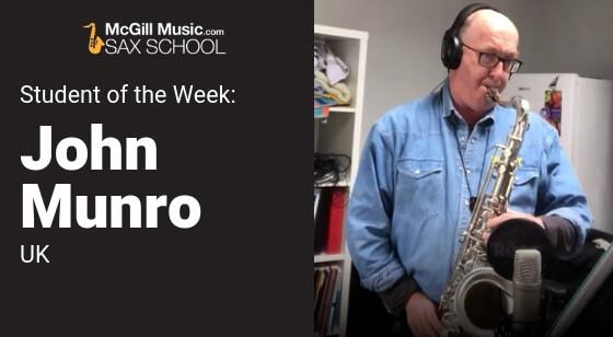 John Munro Student of the Week
