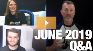 Sax School June 2019 Q and A Session
