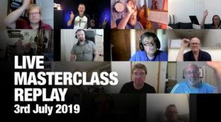 Sax School July 2019 Live Masterclass Replay