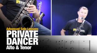 Private Dancer Lesson alto and tenor
