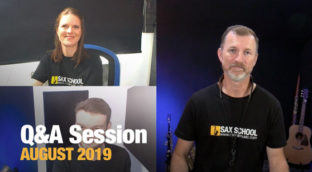 Sax School August 2019 Q and A Session