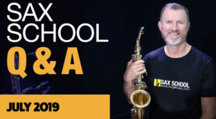 Sax School July Q and A Session
