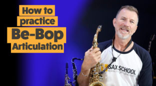 How to practice Be-Bop articulation