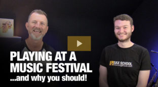 Playing at a Music Festival and why you should