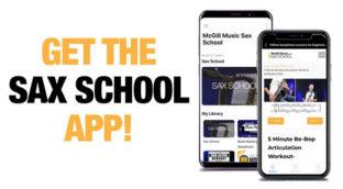 Get the Sax School App
