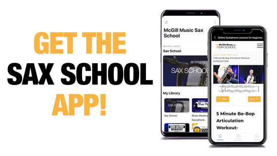 sax school app